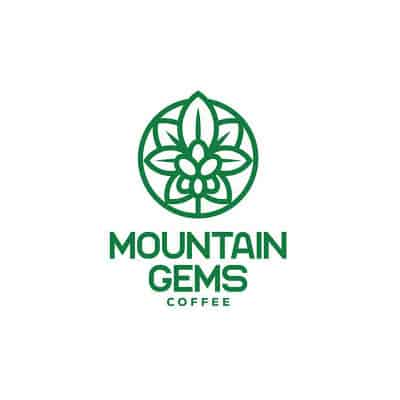 Mountain Gems Coffee Logo